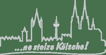 Autoaufkleber Kölner Skyline Ne Stolze Kölsche